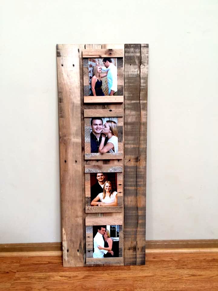 marco para fotos de palets