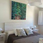 muebles de palet en blanco