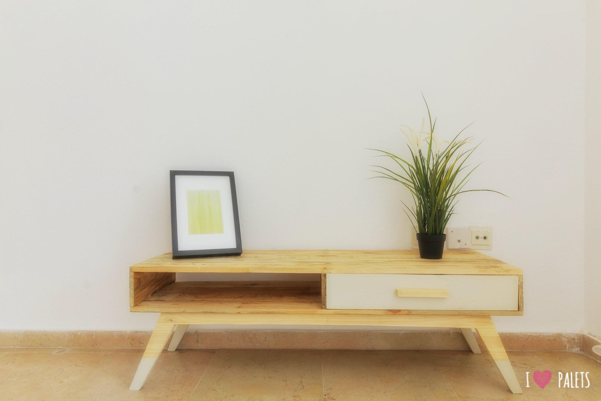 mesa retro de palets