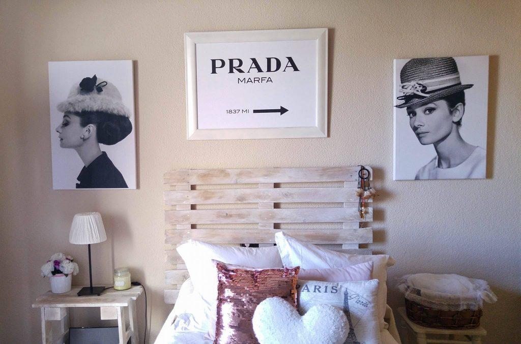 dormitorio de palets