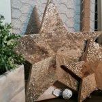 estrellas de navidad de palet