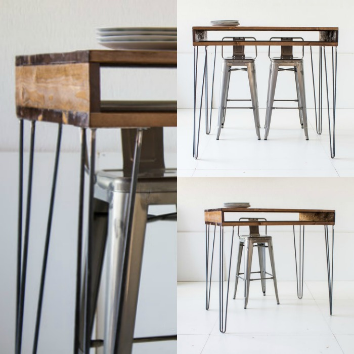 mesas de diseño de palet