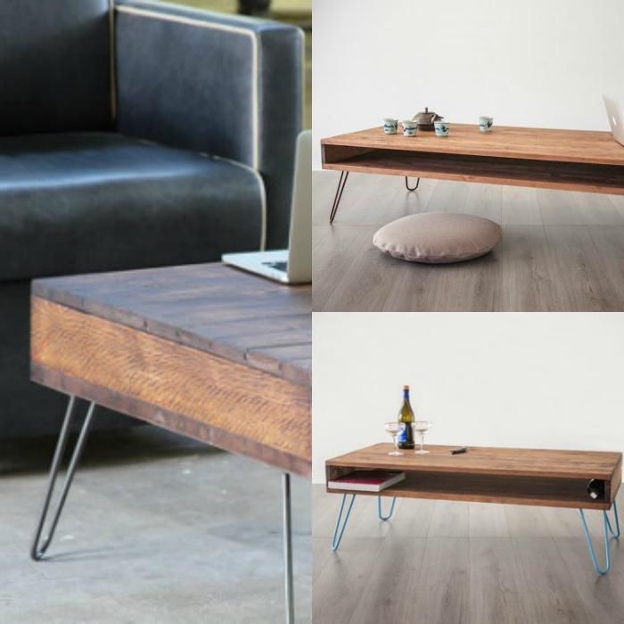 mesas de diseño de palets