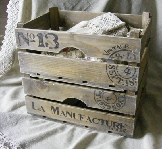 ideas de decorar cajas de fruta