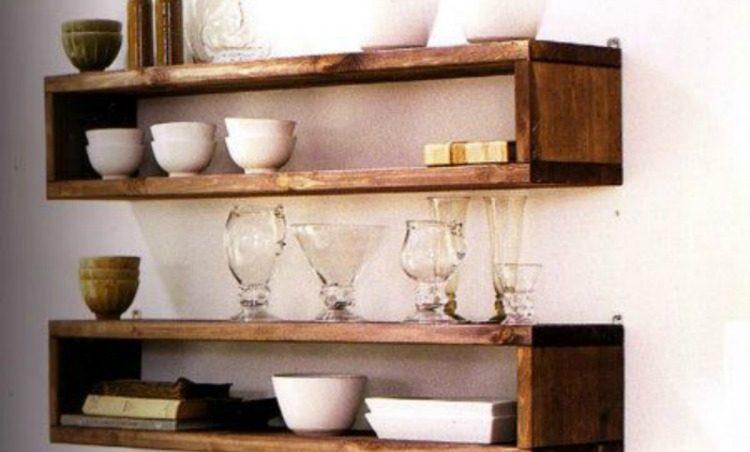 Ideas de estanter as de palets para decorar una aburrida for Lamparas cocinas rusticas