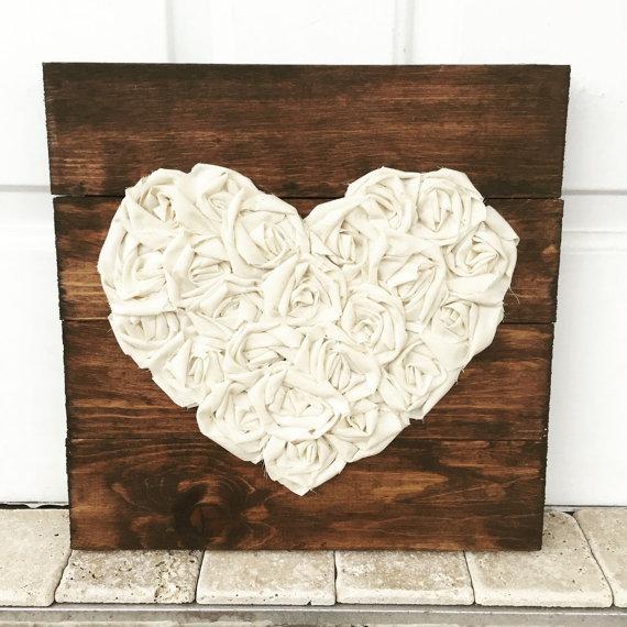 cuadros de palet de corazones