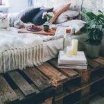 ideas para palets en dormitorios