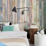 pared de palets vintage