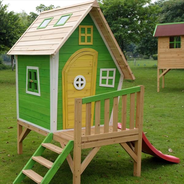 Ideas de juguetes de palets para ni os de exterior i for Hamacas para el jardin