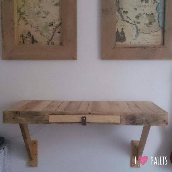 escritorio de palets