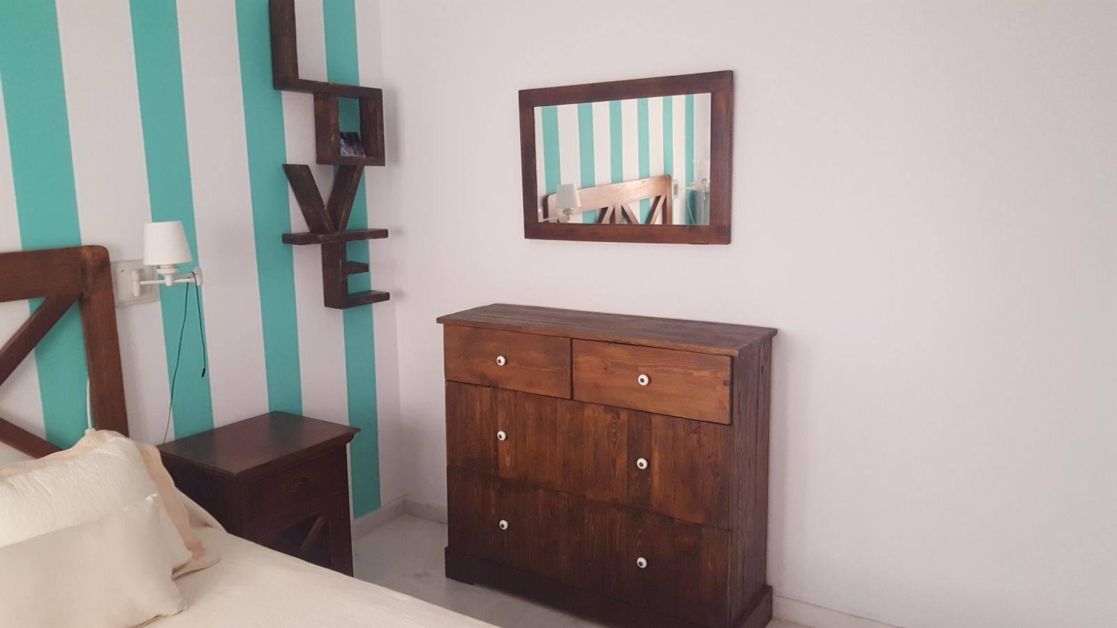 muebles de palets para el dormitorio