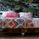 base de cama de palet