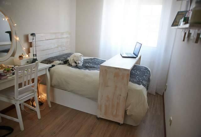 conjunto de dormitorio de palet