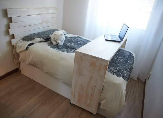 conjunto de dormitorio de palets