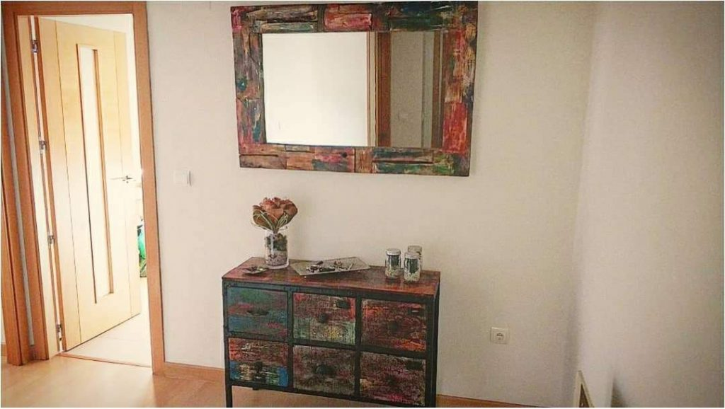 espejo de palets