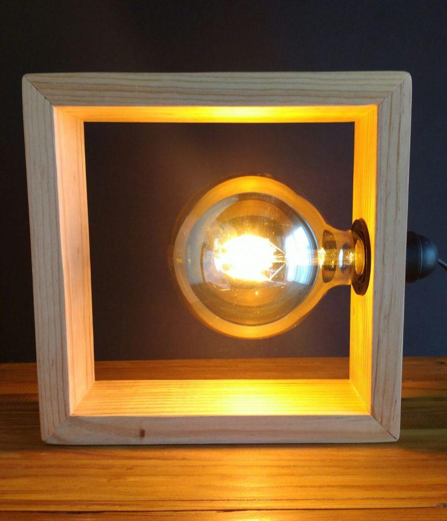 lámparas de palet