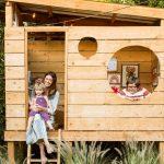 casita de palets para niños