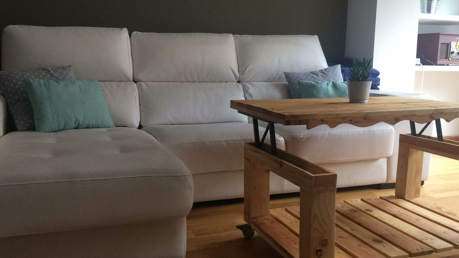 mesa elevable de palet