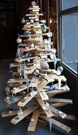 hacer un árbol con palets