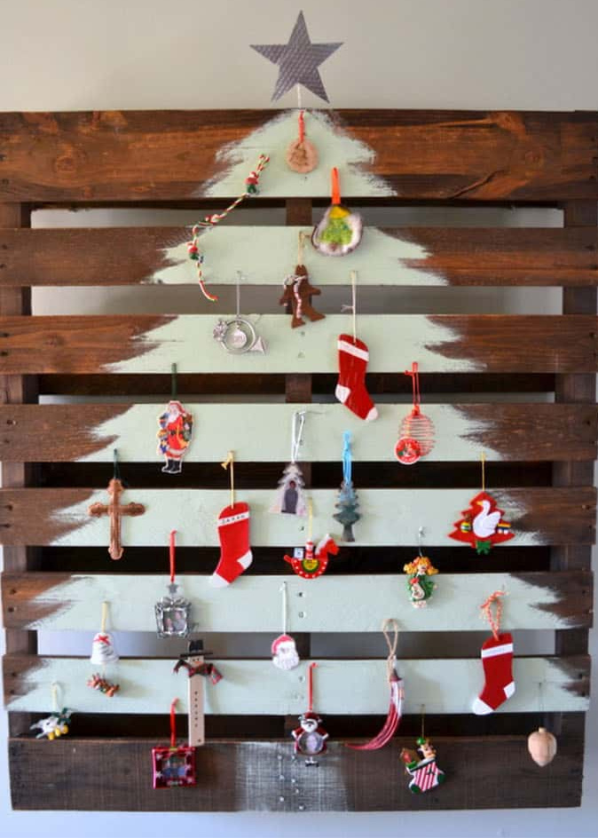 hacer árbol de Navidad