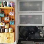 estantería con palets