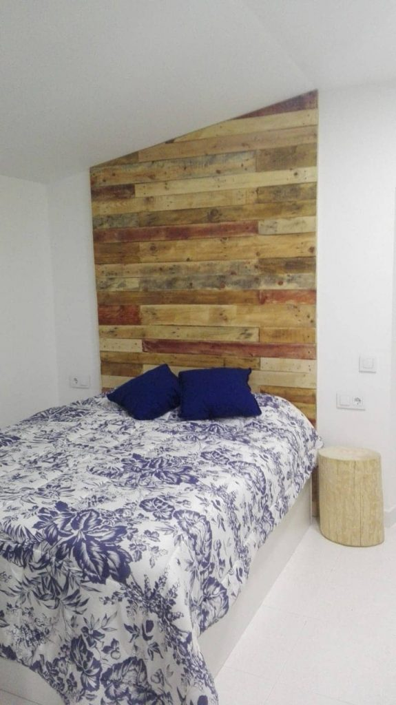 pared con palets