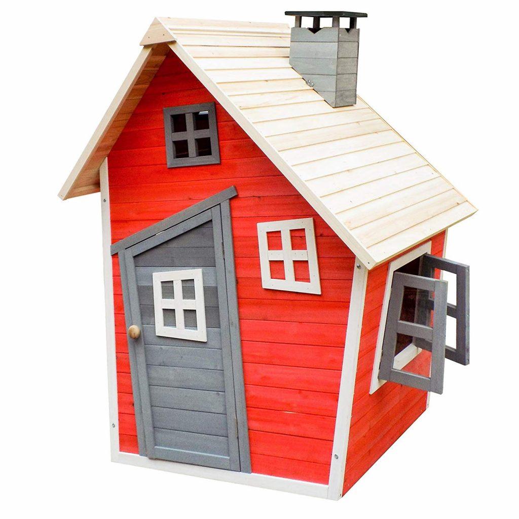 casa de madera de niños