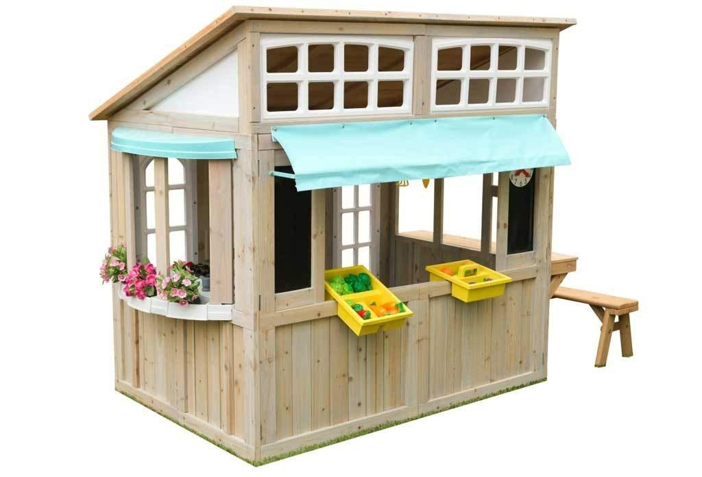 casas de madera baratas para niños