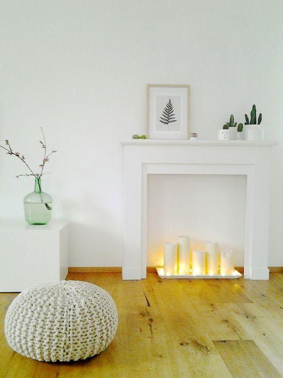 chimeneas decorativas