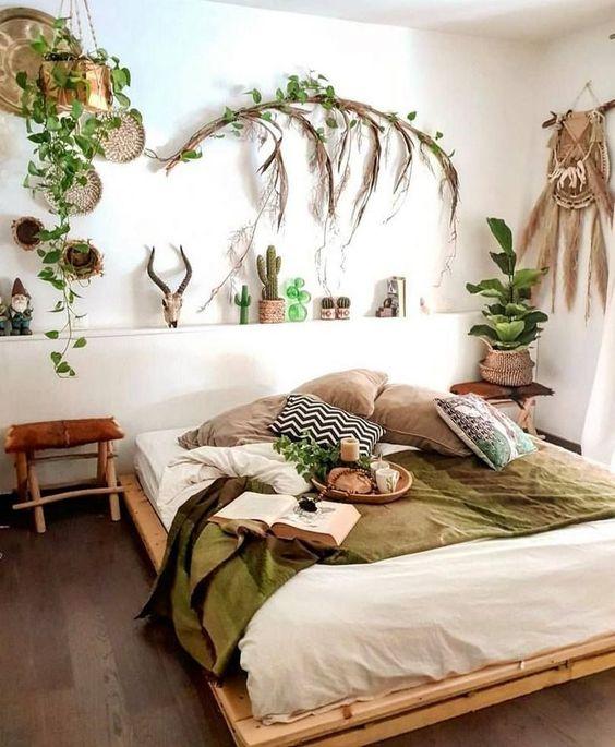 decorar un dormitorio con palets