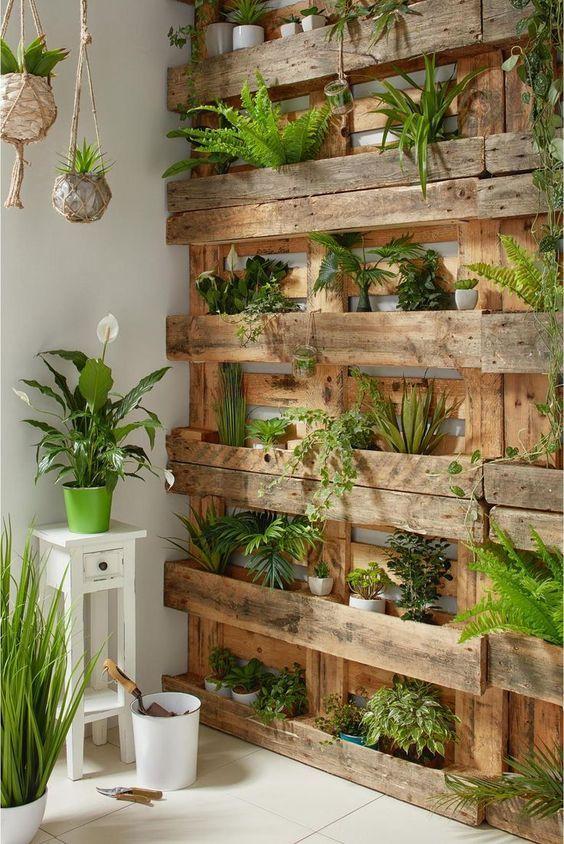 decorar una terraza con palets