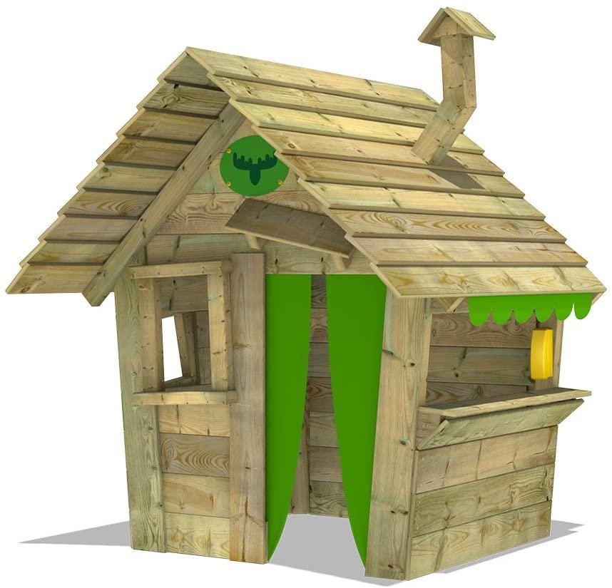 casa de madera infantil
