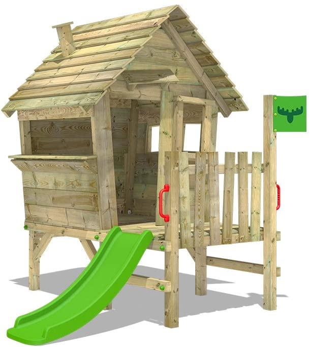 casita de madera para niños de exterior
