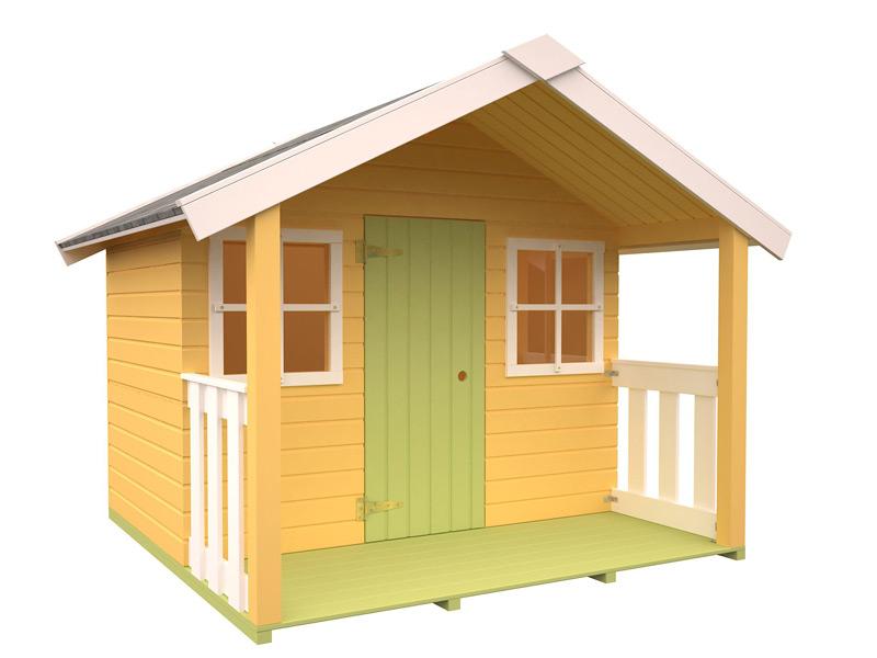 casita para niños de madera