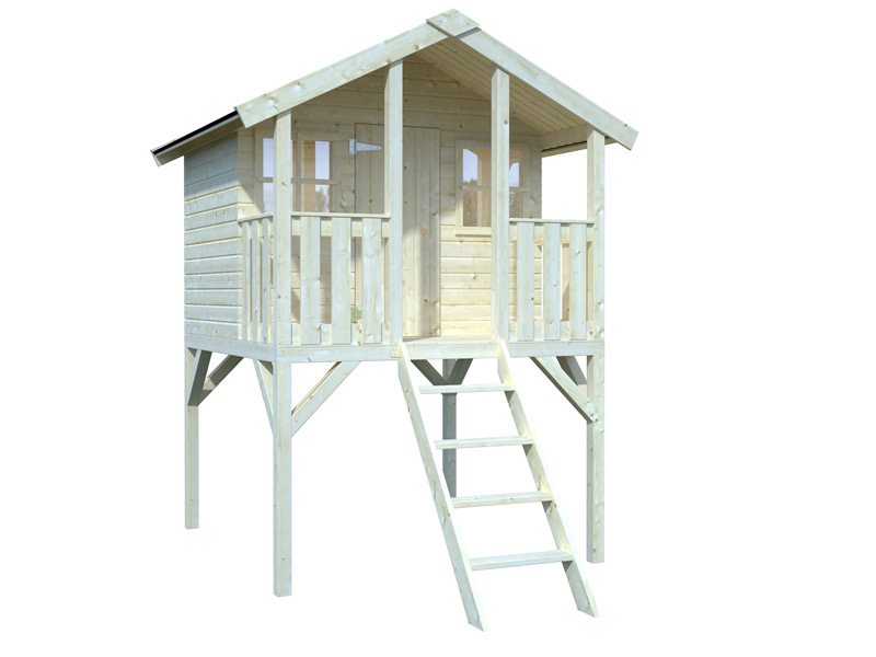caseta de madera infantil