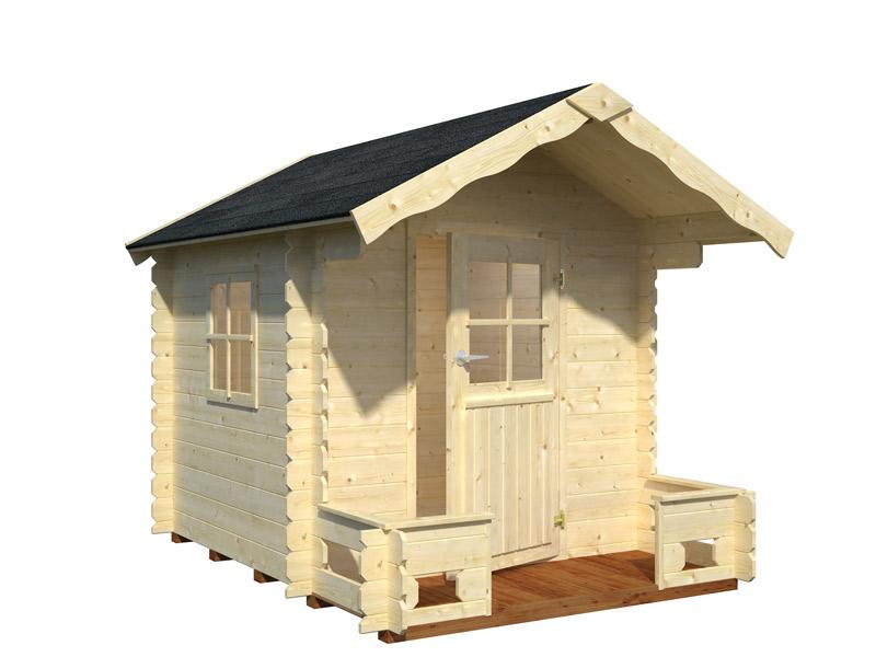 casita infantil de madera