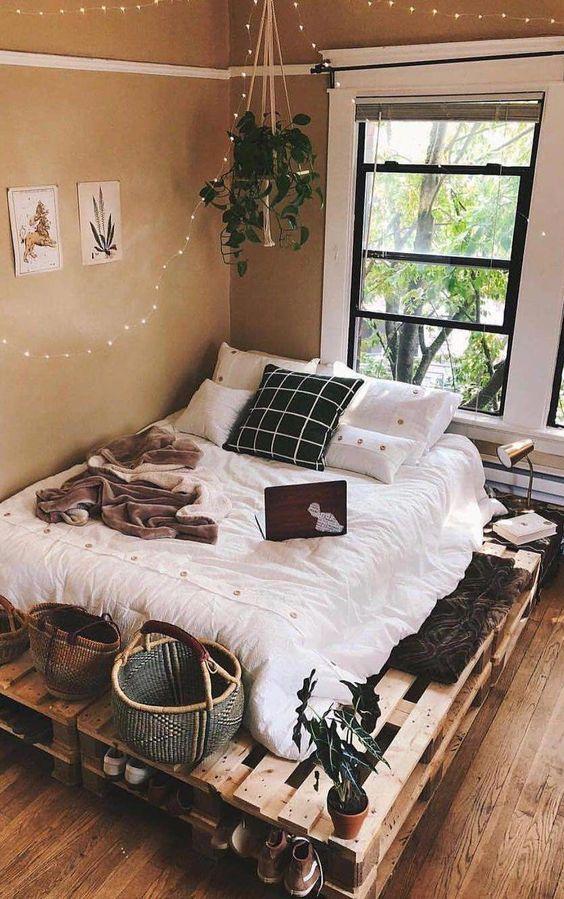 camas con palets DIY