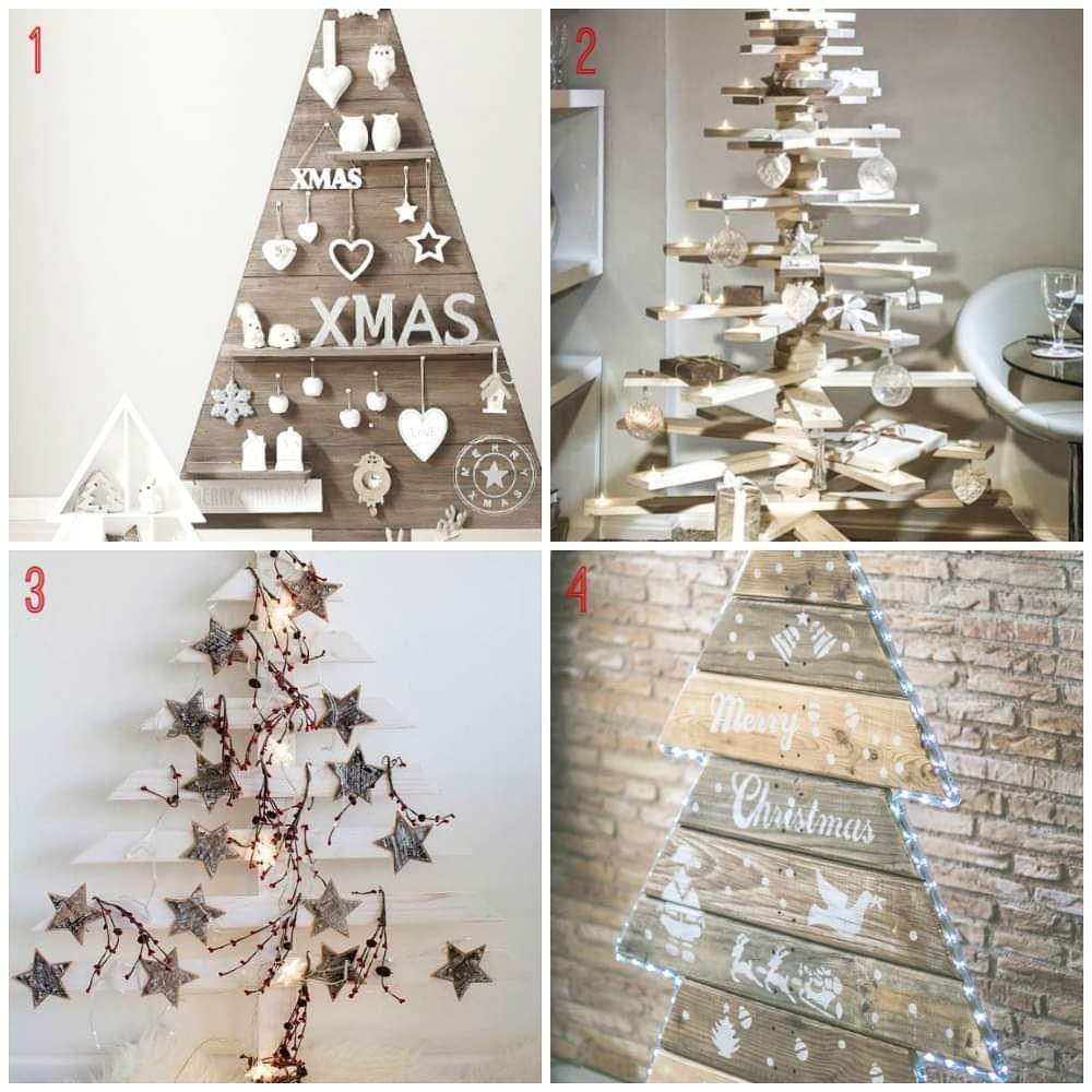 comprar un árbol de navidad con paletas