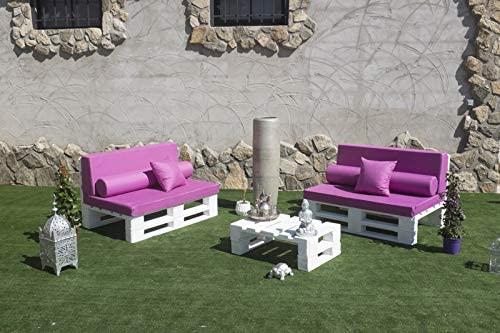 muebles con palets para terraza o jardín